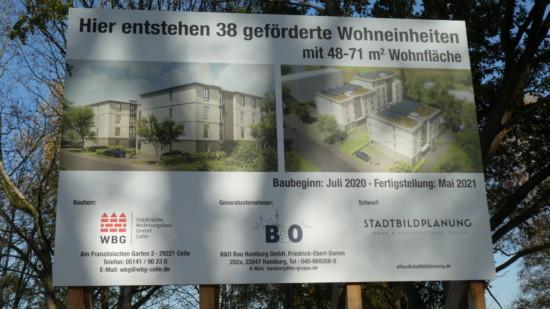 Wohnungsbau Wittinger Straße
